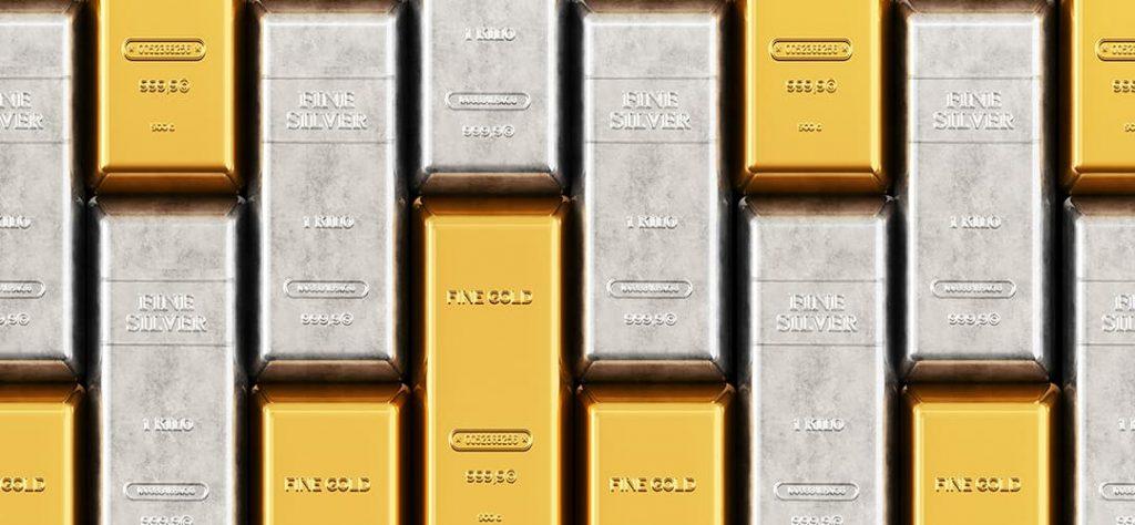 Gold oder Silber