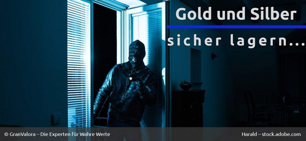 Gold Silber sicher lagern
